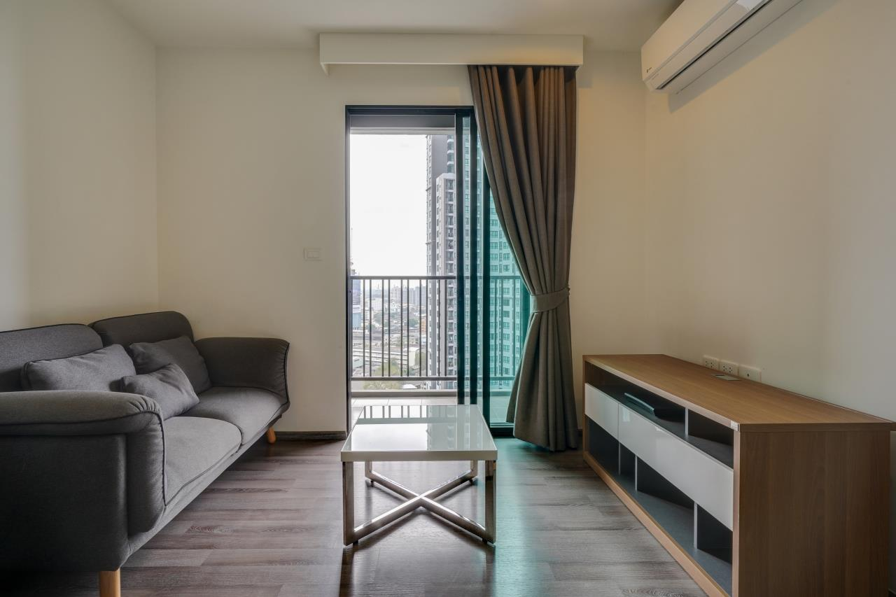 Hostmaker Bangkok Agency's Cosy 1bed w/Balcony in The Base Park East Condominium 6