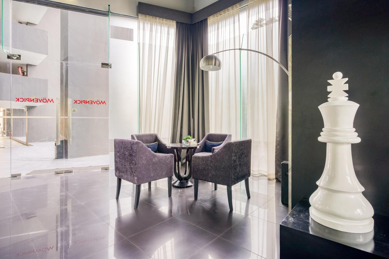 Hostmaker Bangkok Agency's Chic 2Bed 2Bath Apt in Movenpick Residences Ekkamai w/housekeeping service 39