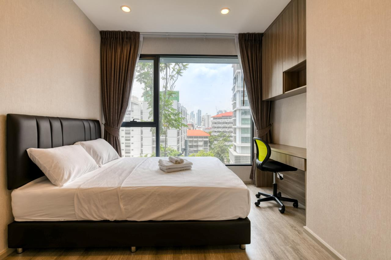 Hostmaker Bangkok Agency's Chic and Modern One Bedroom Condo 5-minute Walk to Phetchaburi MRT Station 15