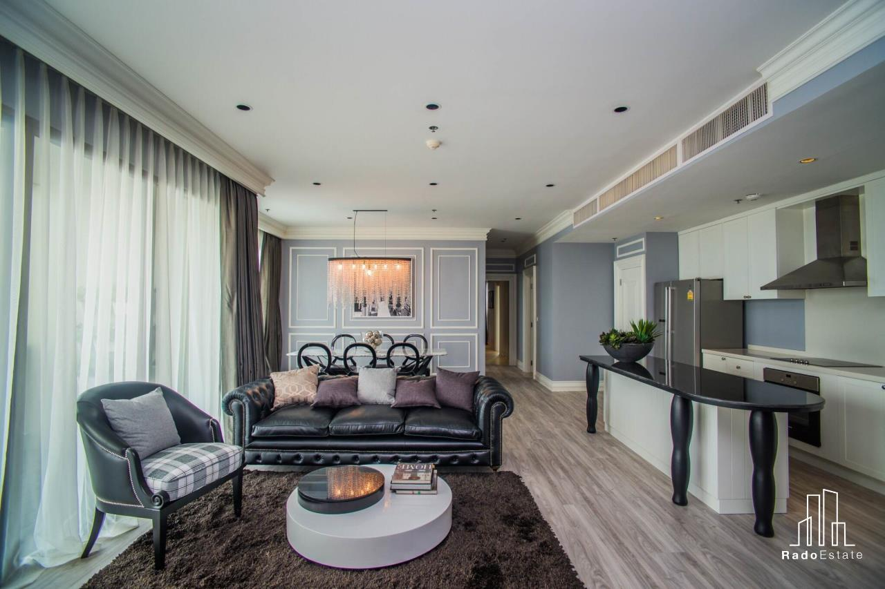 RadoEstate  Agency's Modern Luxury Penthouse 3 bedrooms for rent in Bangkok 2