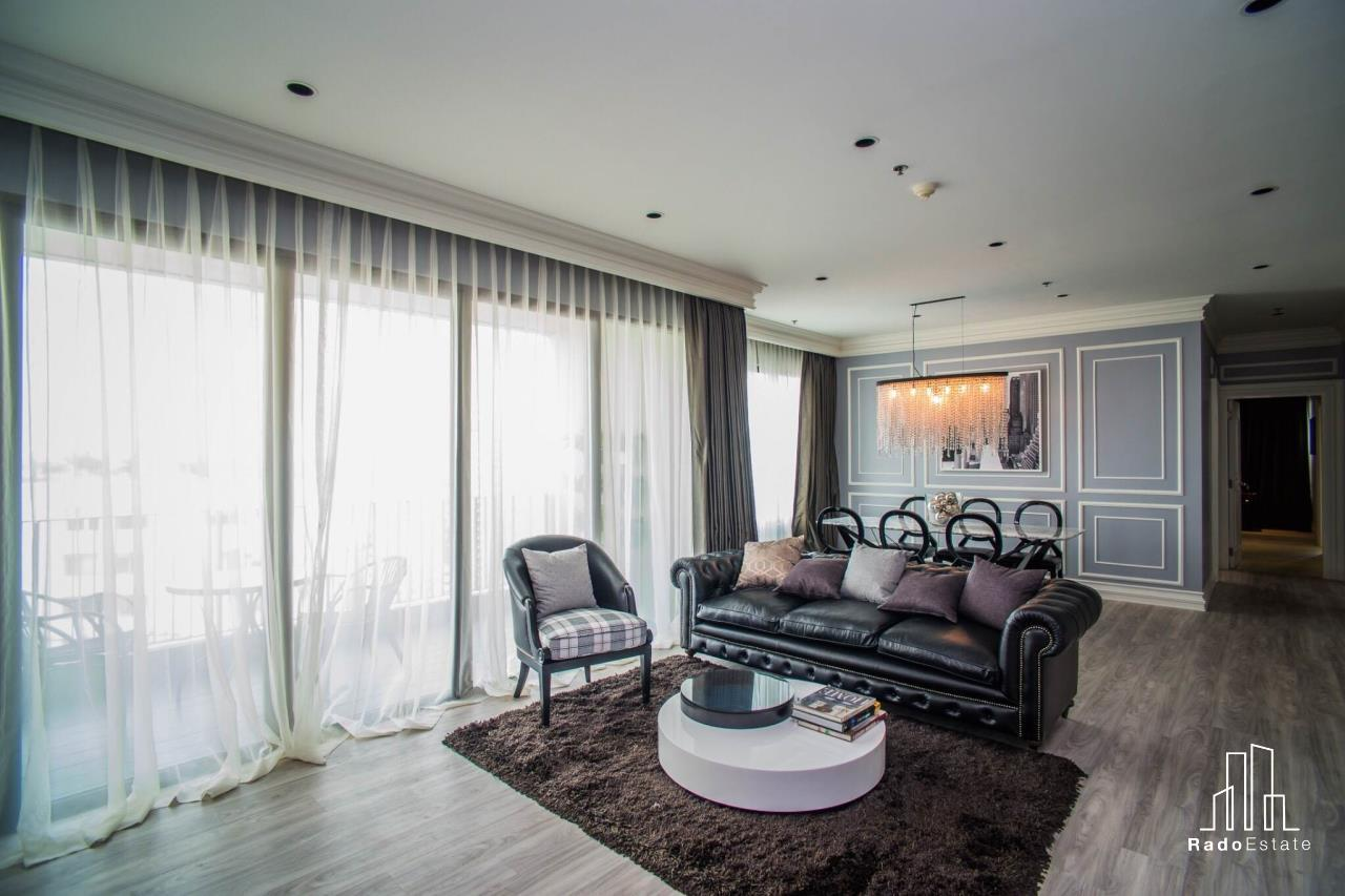 RadoEstate  Agency's Modern Luxury Penthouse 3 bedrooms for rent in Bangkok 19
