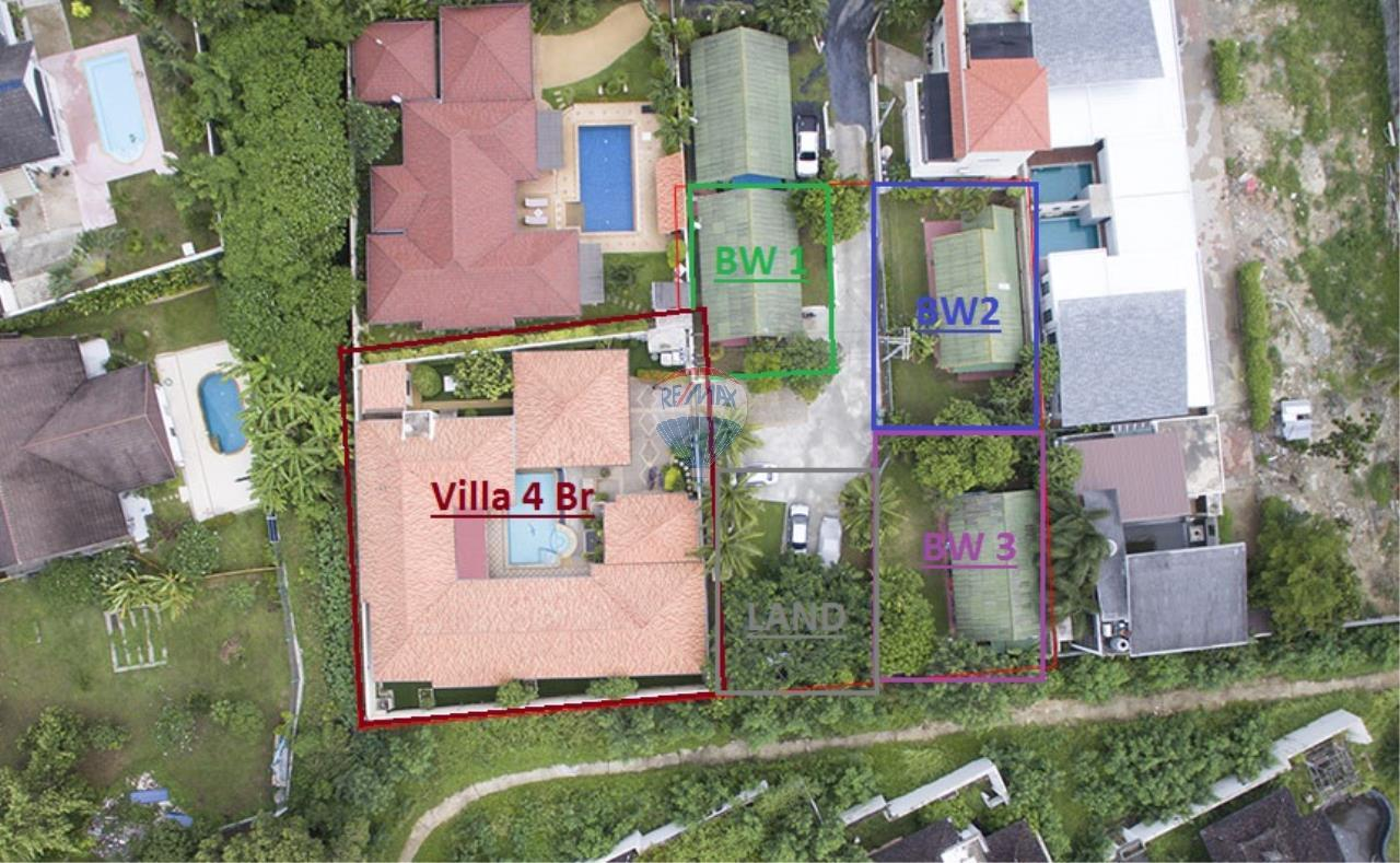RE/MAX Top Properties Agency's Pool villa+3 Bungalows with 2000 sq. mt. Land 1