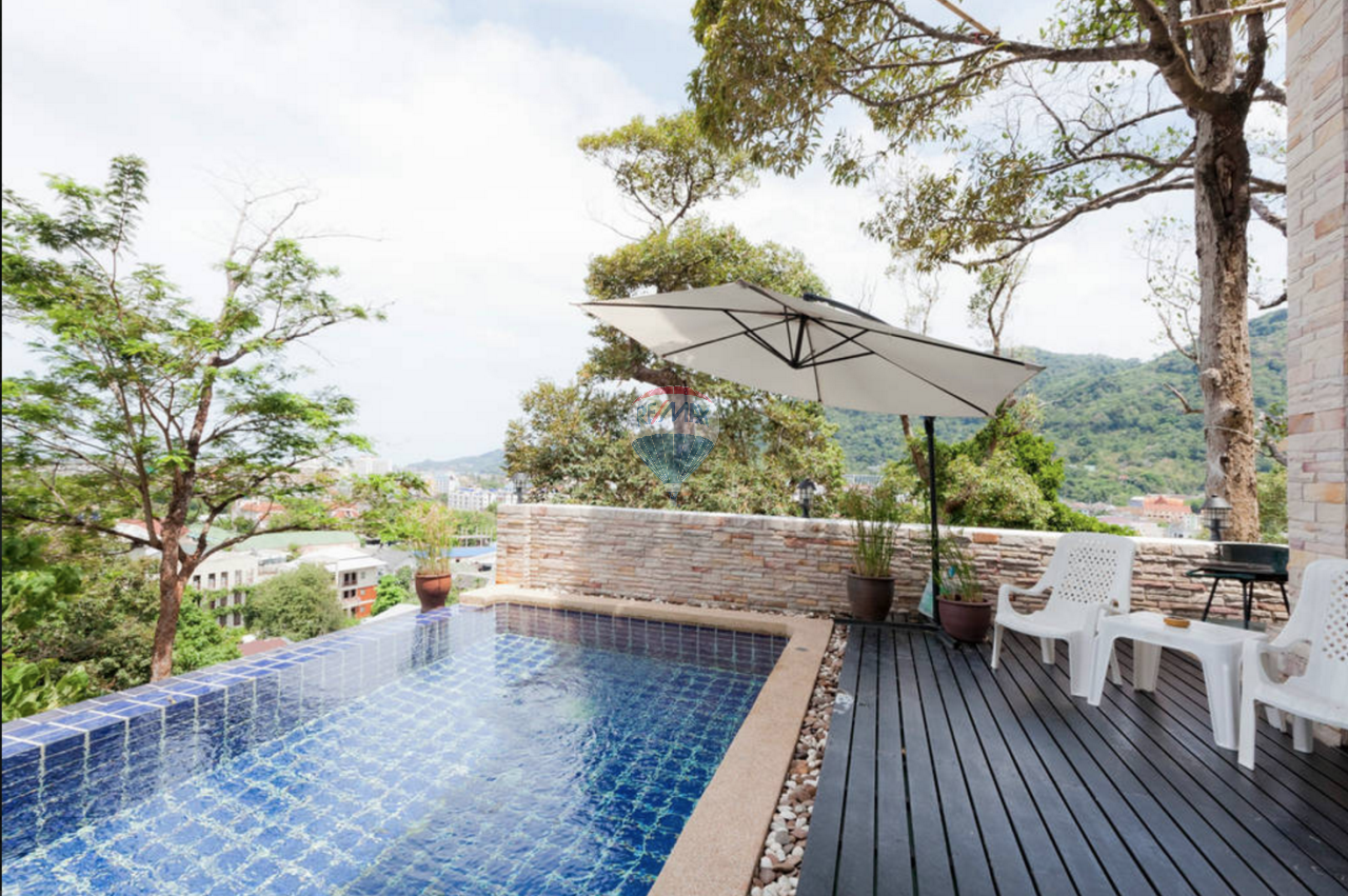 RE/MAX Top Properties Agency's PATONG - Beautiful Sea view 4 bedrooms Villa - GREAT DEAL! 1