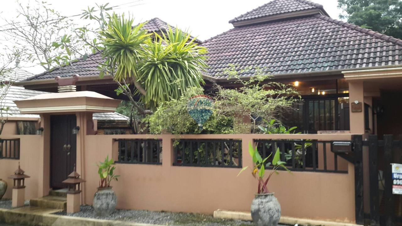 RE/MAX Top Properties Agency's Muang Phuket,Chalong, 2Br.villas Thai style. decor teak wood for rent 1