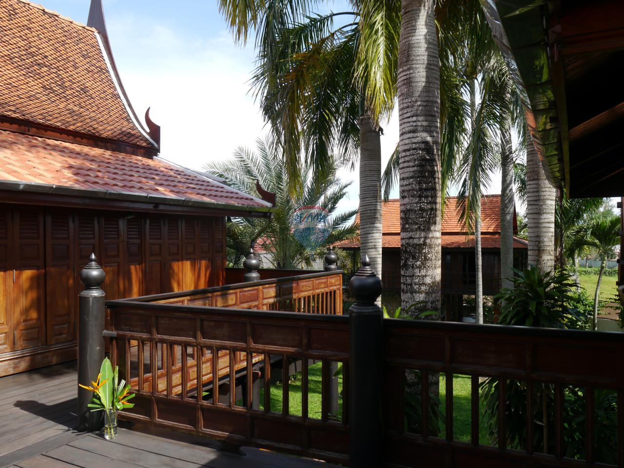 RE/MAX Top Properties Agency's PHUKET - STUNNING UNIQUE THAI SPIRIT AYUTTHAYA STYLE VILLA 16