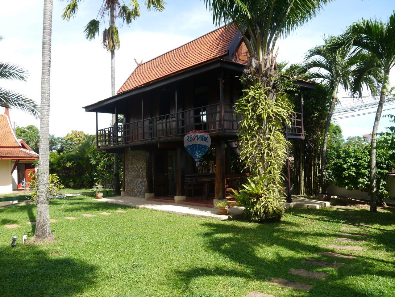 RE/MAX Top Properties Agency's PHUKET - STUNNING UNIQUE THAI SPIRIT AYUTTHAYA STYLE VILLA 24