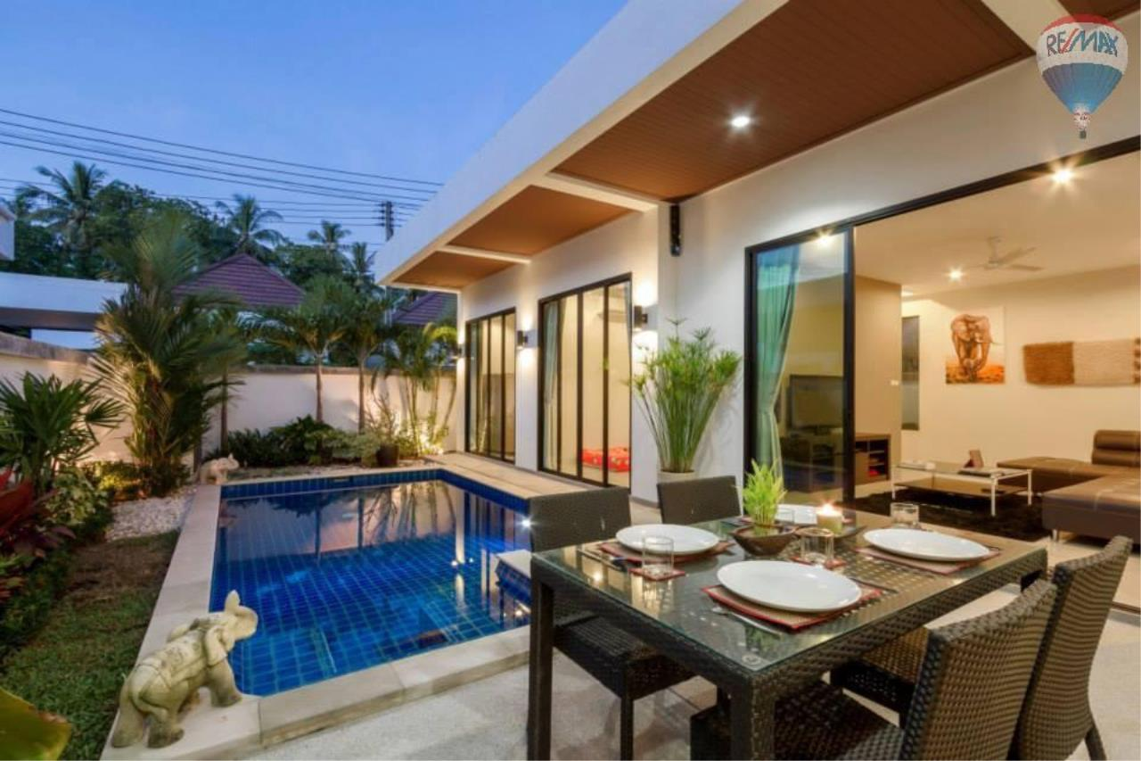 RE/MAX Top Properties Agency's Lovely 3 Bedrooms villa with pool on the heart of Rawai  5