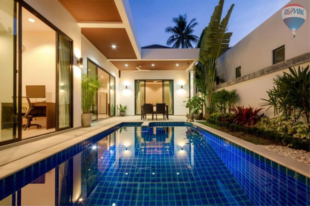 RE/MAX Top Properties Agency's Lovely 3 Bedrooms villa with pool on the heart of Rawai  8