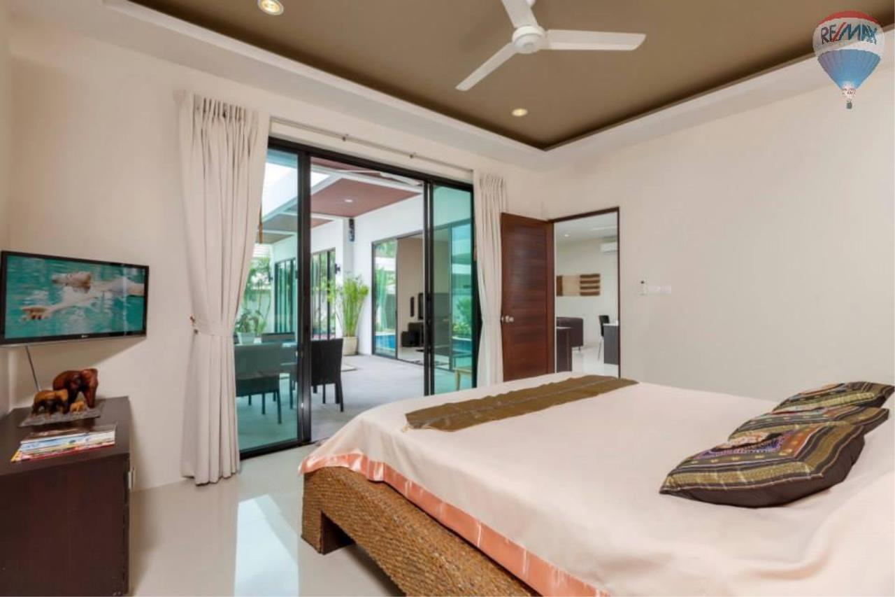 RE/MAX Top Properties Agency's Lovely 3 Bedrooms villa with pool on the heart of Rawai  9