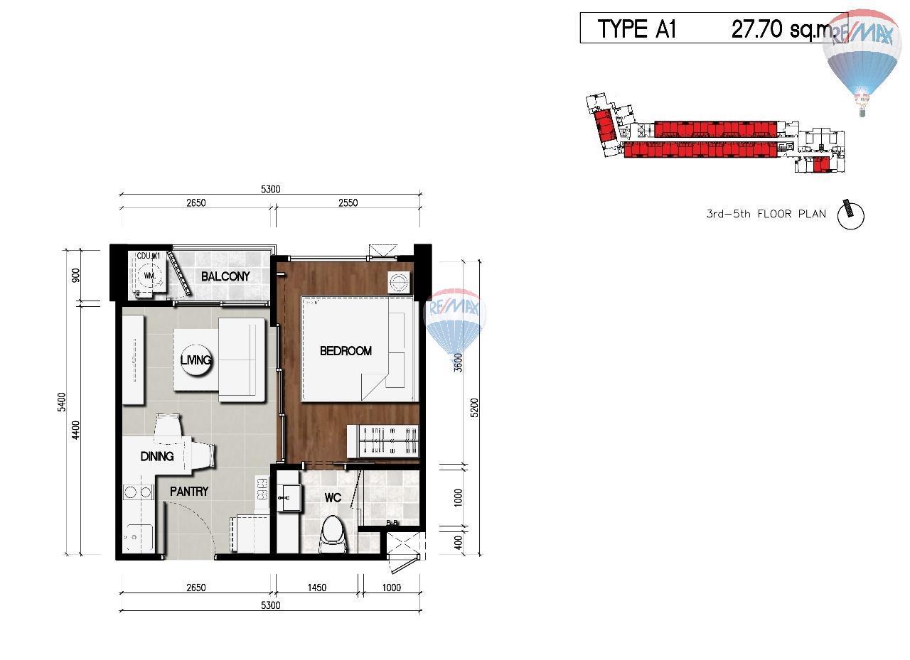 RE/MAX Top Properties Agency's Thai Modern Style Condo in Surin Beach 11