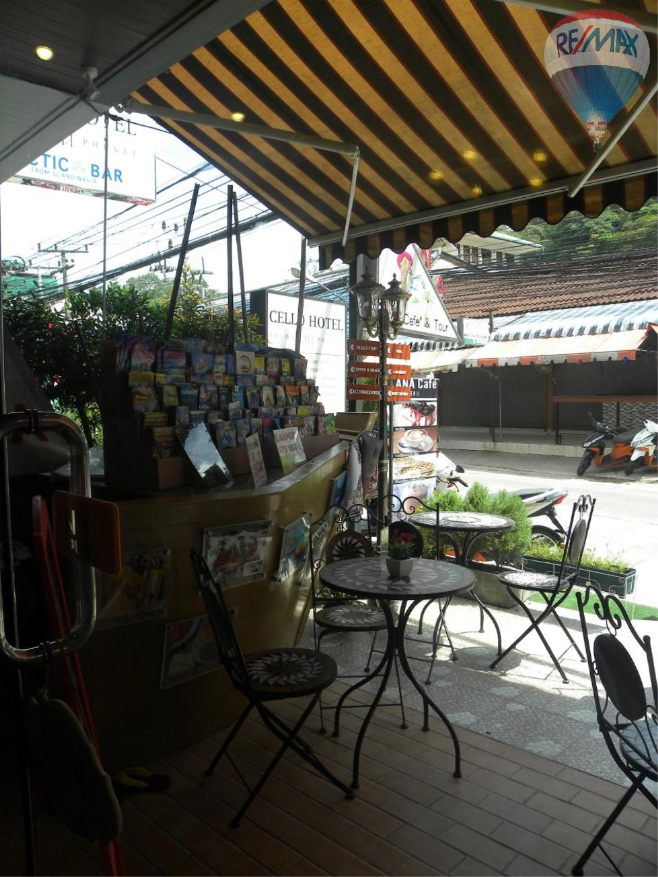 RE/MAX Top Properties Agency's Coffee shop for sale at Patong 2