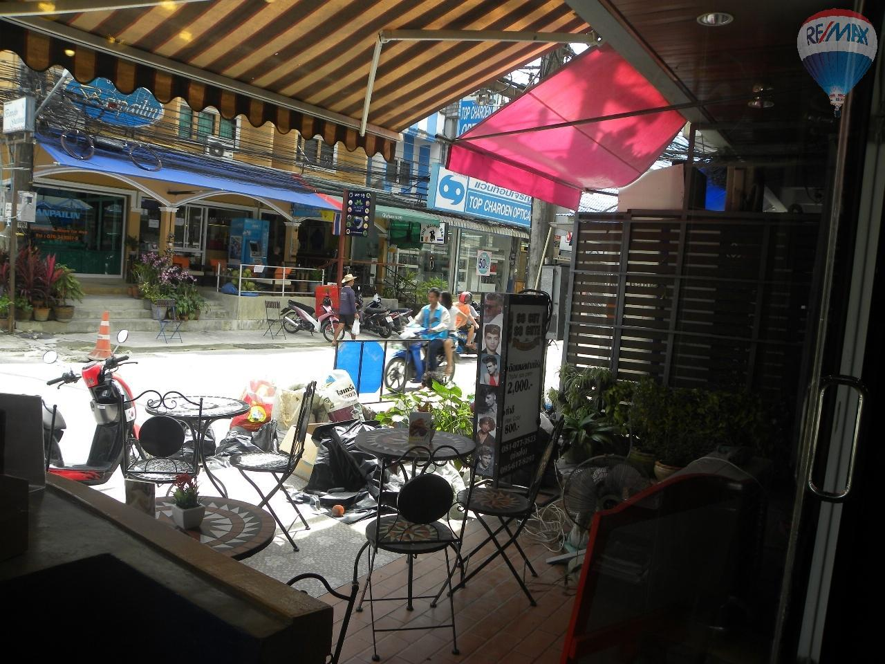 RE/MAX Top Properties Agency's Coffee shop for sale at Patong 3