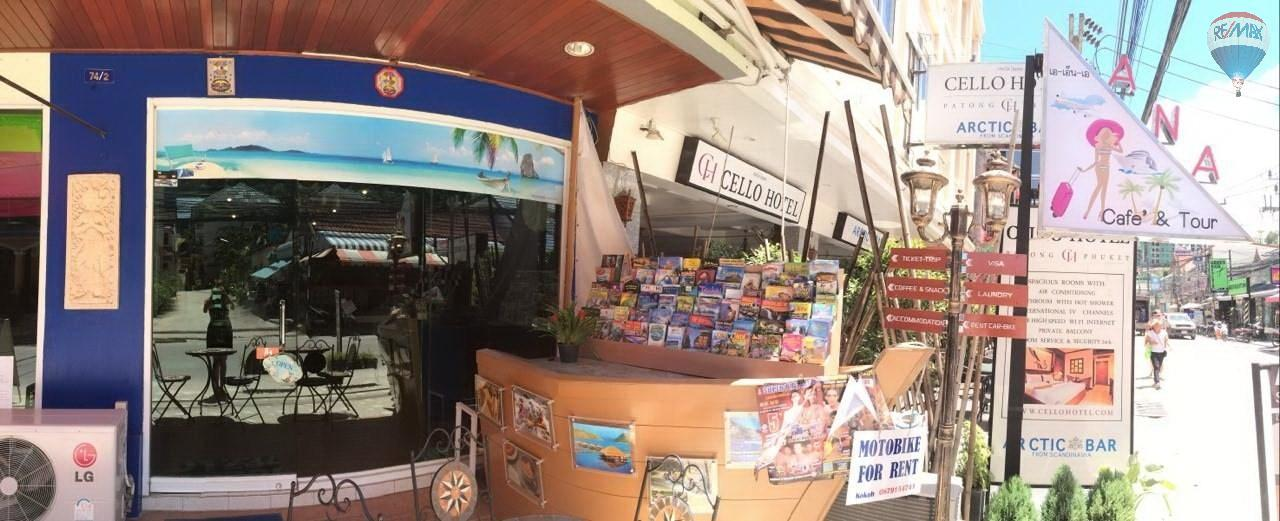 RE/MAX Top Properties Agency's Coffee shop for sale at Patong 5