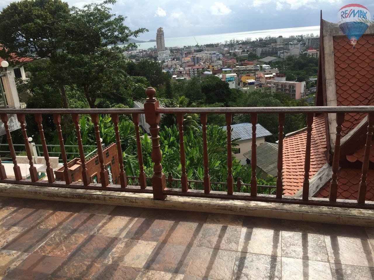 RE/MAX Top Properties Agency's house sea view 4 storey patong 2