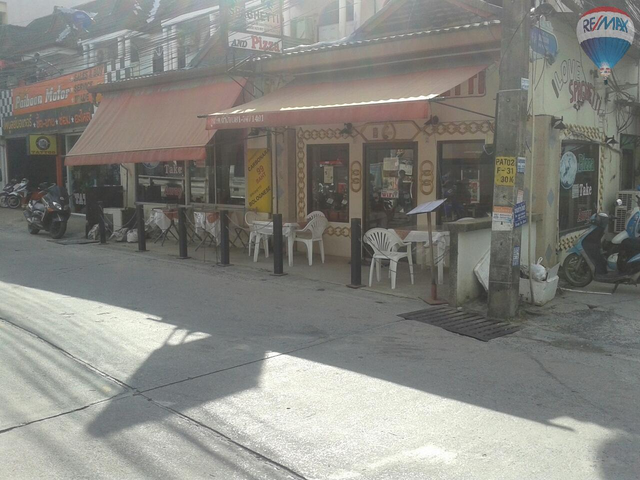 RE/MAX Top Properties Agency's Patong, Great Restaurant For Sale!! 1