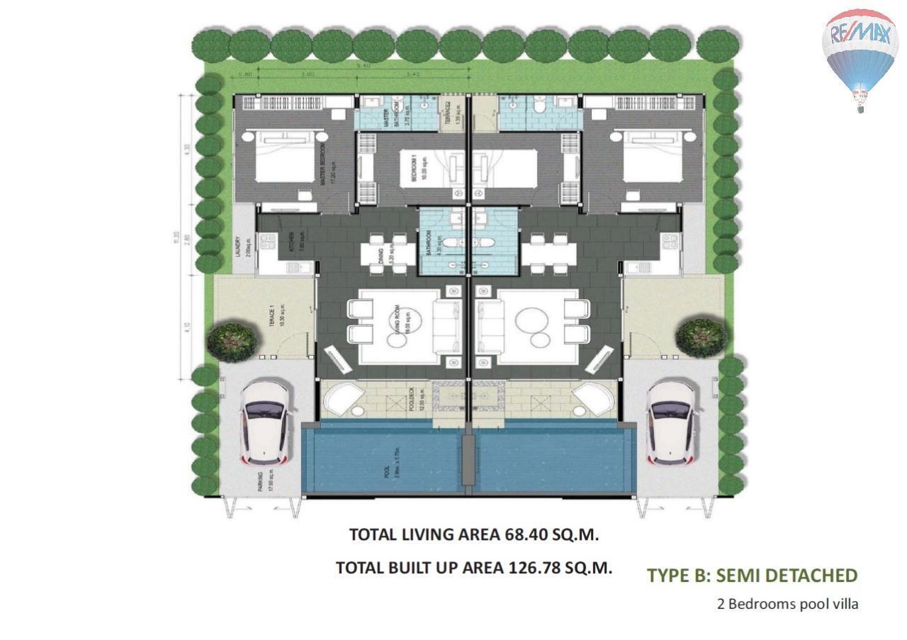 RE/MAX Top Properties Agency's Spacious Luxury private Pool Villas Resort 2 bedroom in Chalong 28