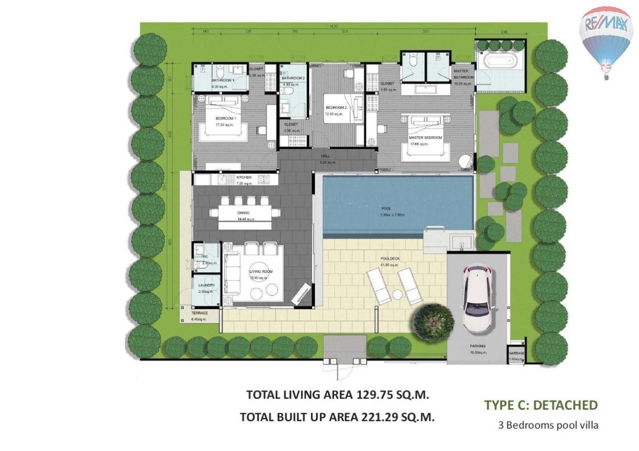RE/MAX Top Properties Agency's Spacious Luxury private Pool Villas Resort 2 bedroom in Chalong 29