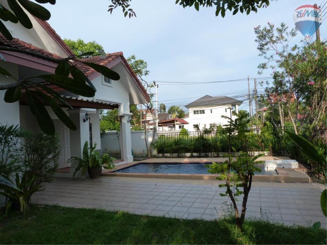 RE/MAX Top Properties Agency's Villa For Rent Land & House Chalong 7