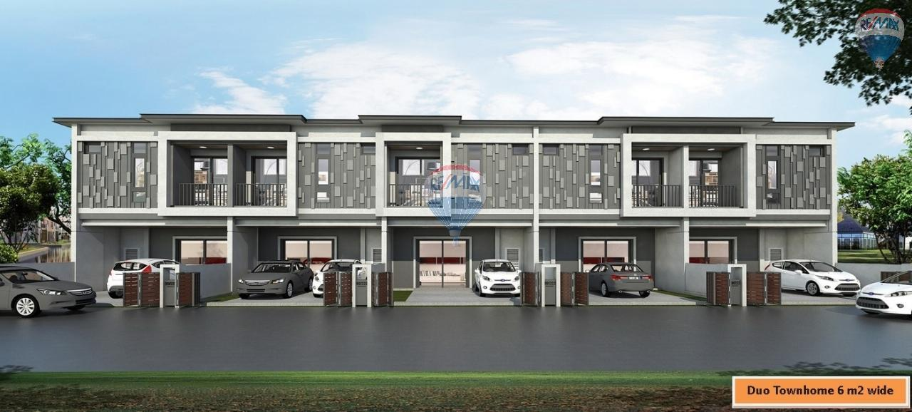 RE/MAX Top Properties Agency's Duo Townhome 3 Bedroom close to The Sri Sunthorn Municipality in Thalang 1