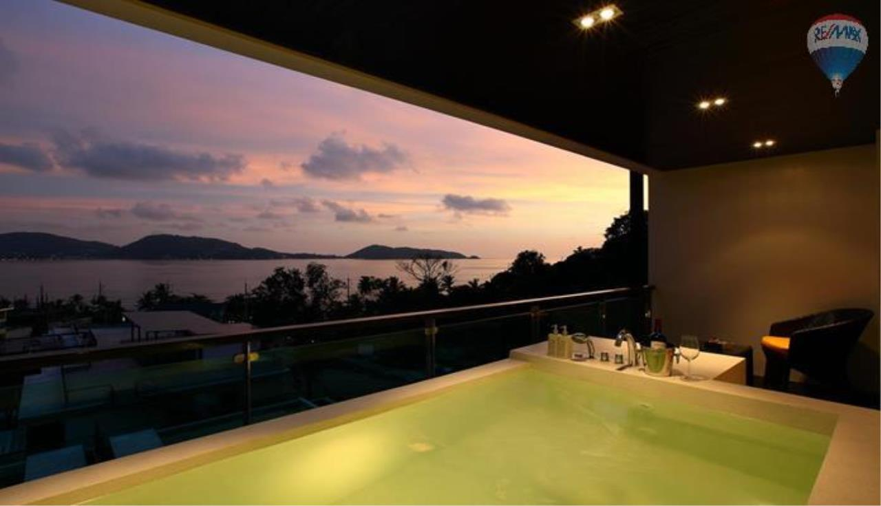 RE/MAX Top Properties Agency's One  bedroom sea view for rent in Patong 2
