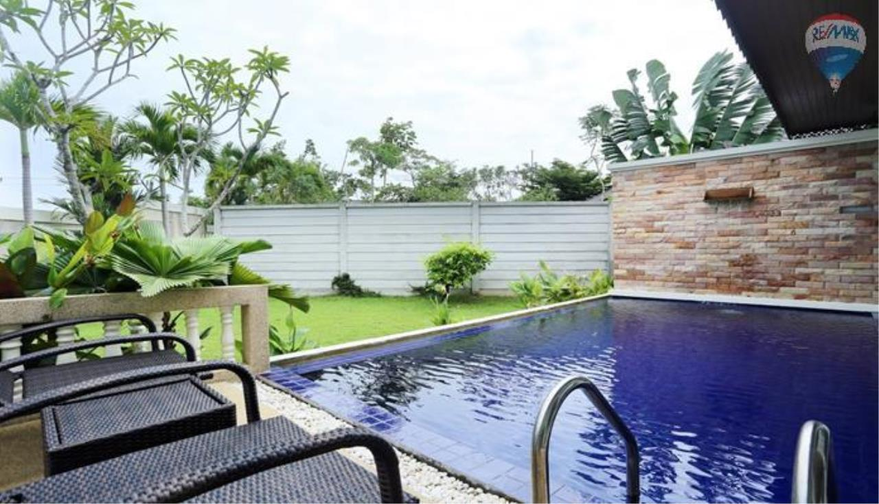 RE/MAX Top Properties Agency's 2 bedrooms pool Villa For rent In Layan 6