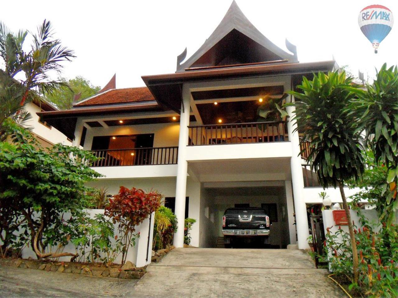 RE/MAX Top Properties Agency's Thai style villa Patong 1