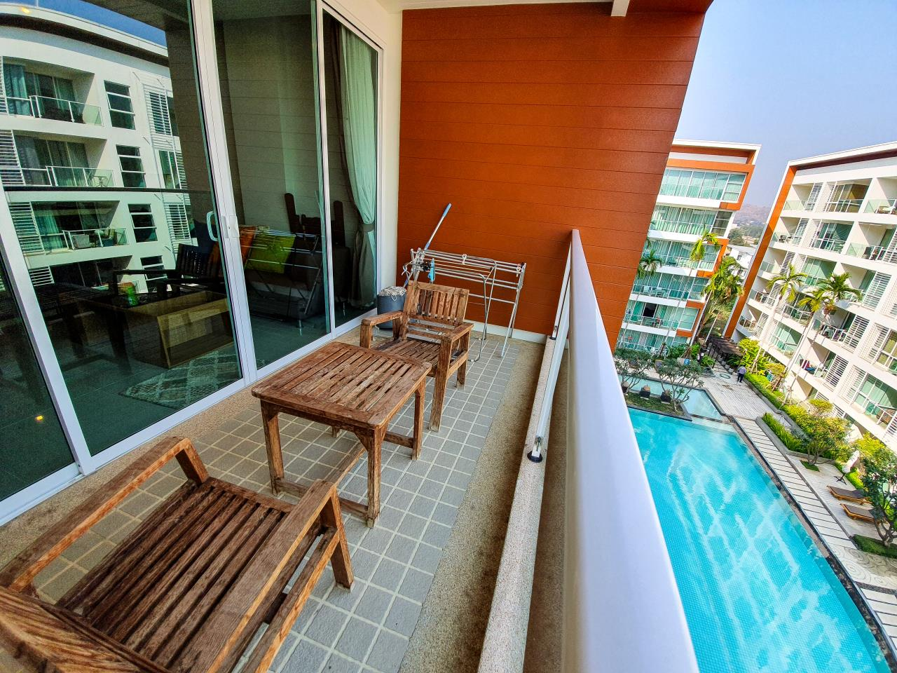HOME - Real Estate Service Agency's The Breeze Hua Hin / 2 Beds (FOR RENT), เดอะ บรีซ หัวหิน / 2 ห้องนอน (ให้เช่า) T008 25