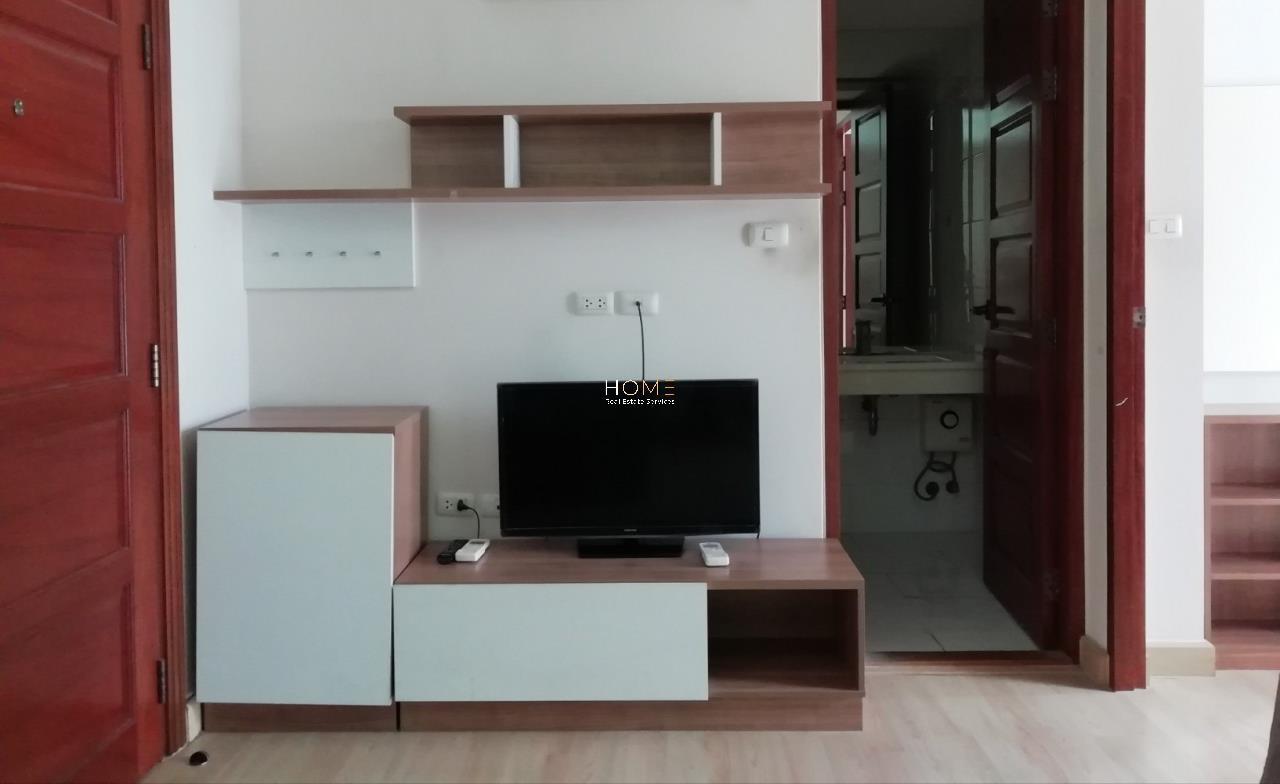 HOME - Real Estate Services Agency's Emerald Residence Ratchada / 1 Bed (FOR SALE & RENT), เอมเมอรัลด์ เรสซิเดนท์ รัชดา / 1 ห้องนอน (ขายและให้เช่า) Nub045 1