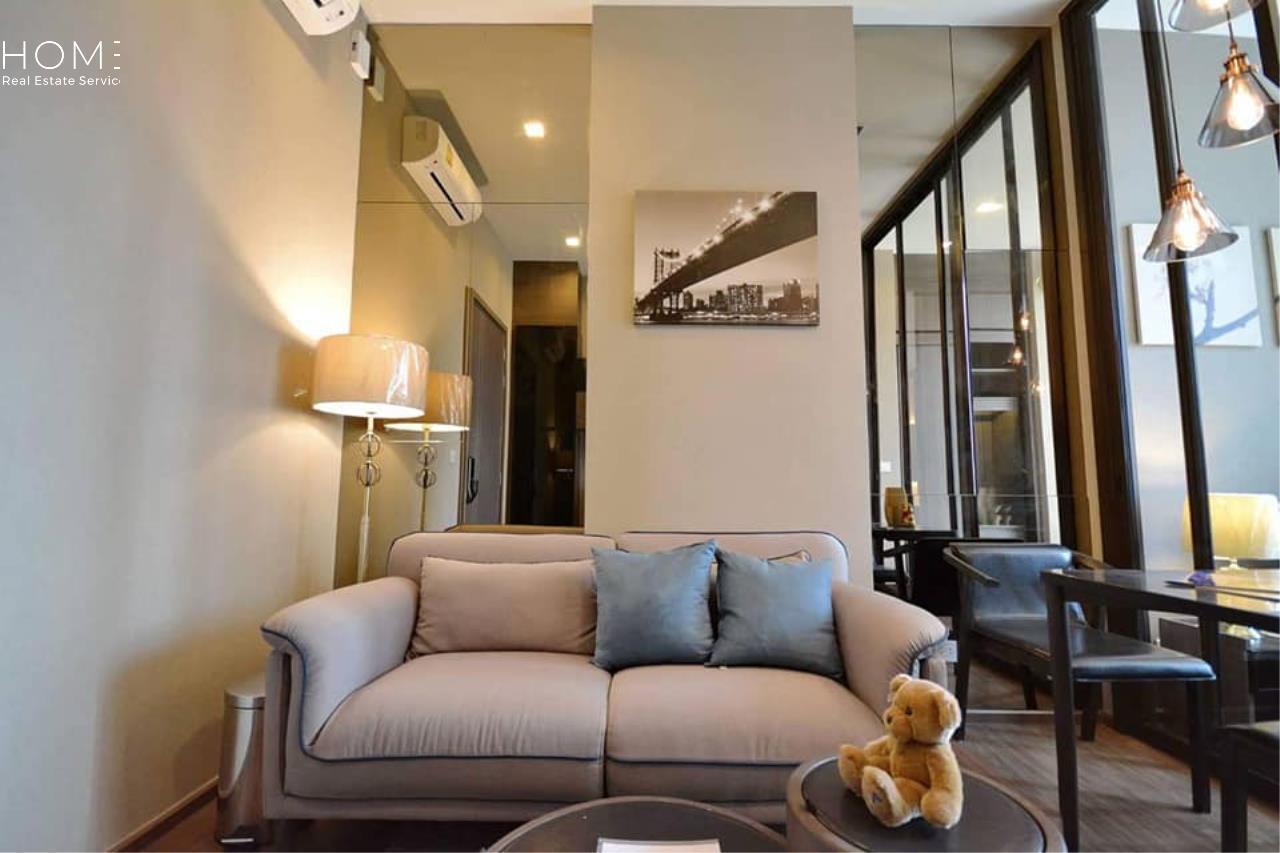 HOME - Real Estate Services Agency's The Line Sukhumvit 71 / 1 Bedroom (SALE W/TENANT), เดอะ ไลน์ สุขุมวิท 71 / 1 ห้องนอน (ขายพร้อมผู้เช่า) Jn259 3