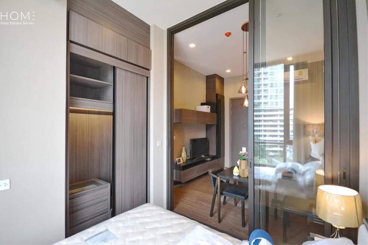 HOME - Real Estate Services Agency's The Line Sukhumvit 71 / 1 Bedroom (SALE W/TENANT), เดอะ ไลน์ สุขุมวิท 71 / 1 ห้องนอน (ขายพร้อมผู้เช่า) Jn259 5