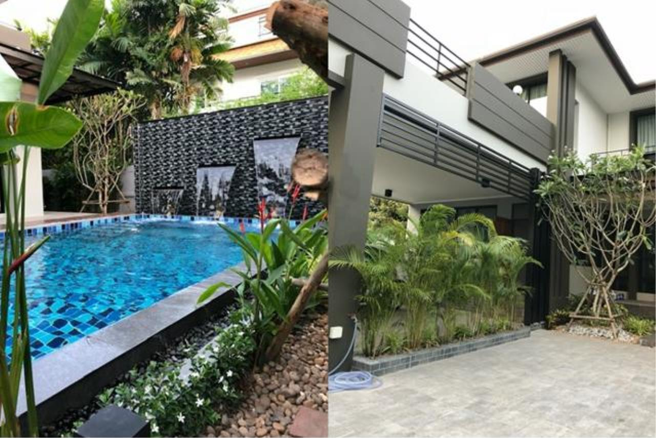 Tony Property Agency's House for Rent at Sukhumvit 71 Soi PridiPanomyong 14 and private swimming pool 2