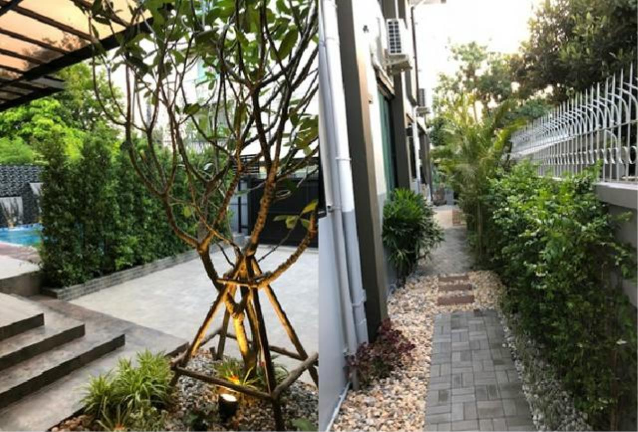 Tony Property Agency's House for Rent at Sukhumvit 71 Soi PridiPanomyong 14 and private swimming pool 15