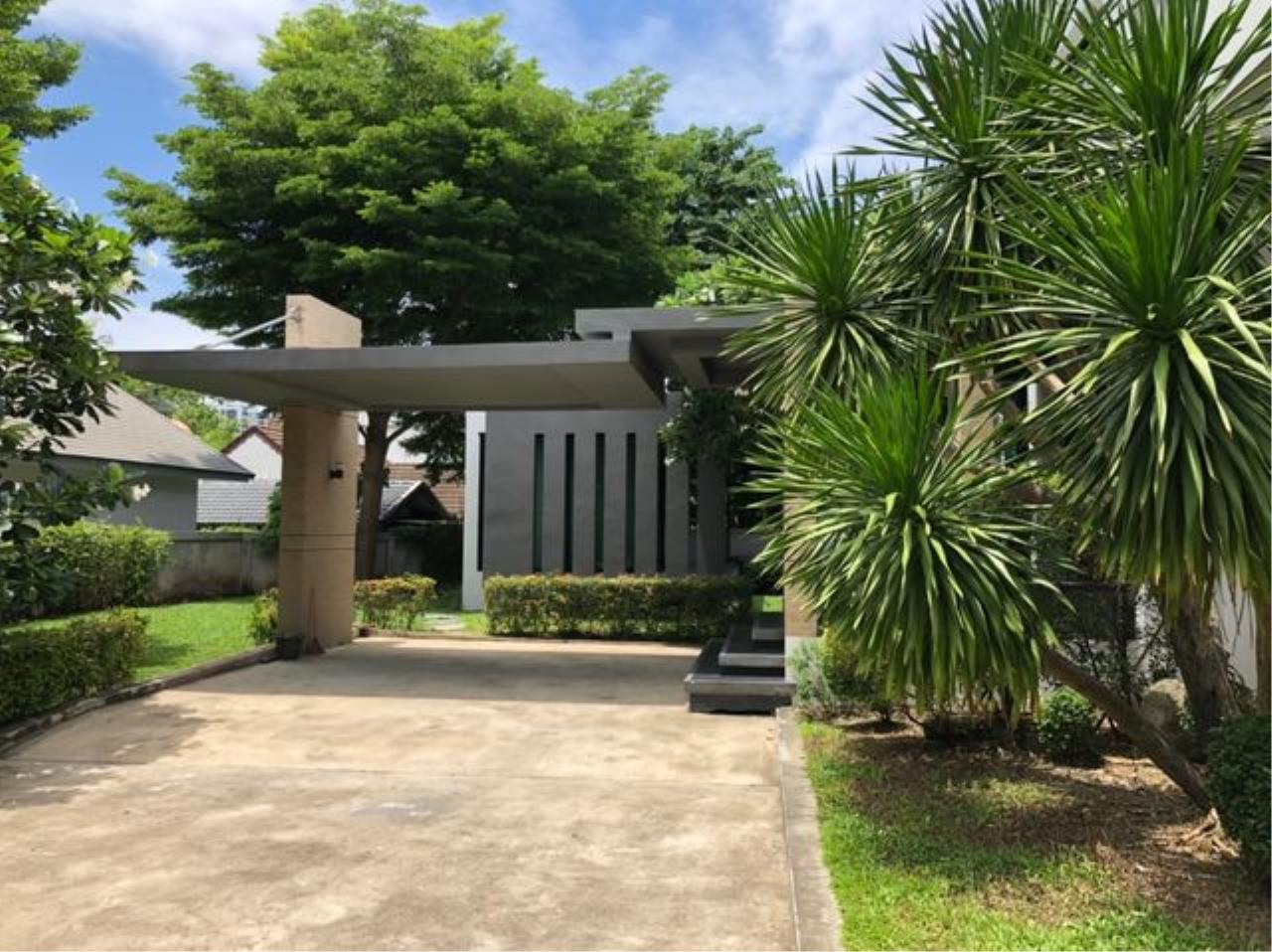 Tony Property Agency's House for Rent at Eakmai Rama9 and private swimming pool 2