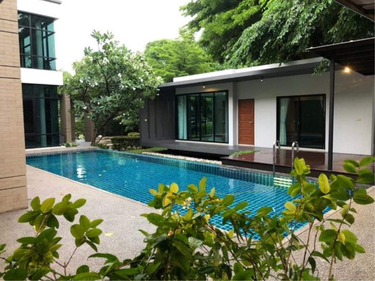 Tony Property Agency's House for Rent at Eakmai Rama9 and private swimming pool 1