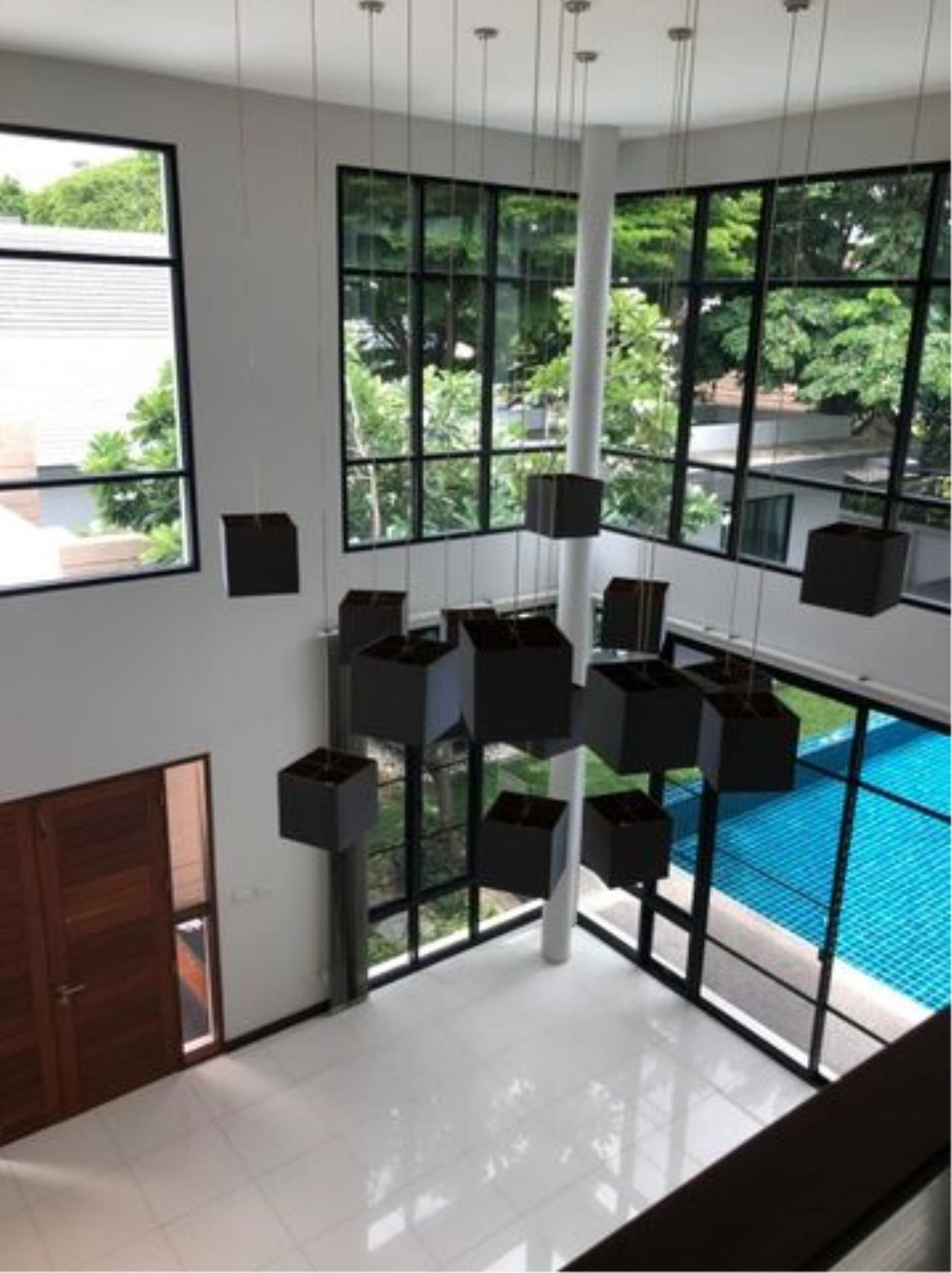 Tony Property Agency's House for Rent at Eakmai Rama9 and private swimming pool 9