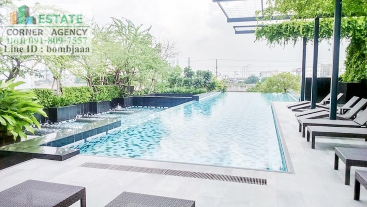 Estate Corner Agency Agency's 20018-Condo 1 Bedroom 49 sq.m. for rent Circle 2 Living Prototype Petchburi Rd. near Airport Link Makkasan 18