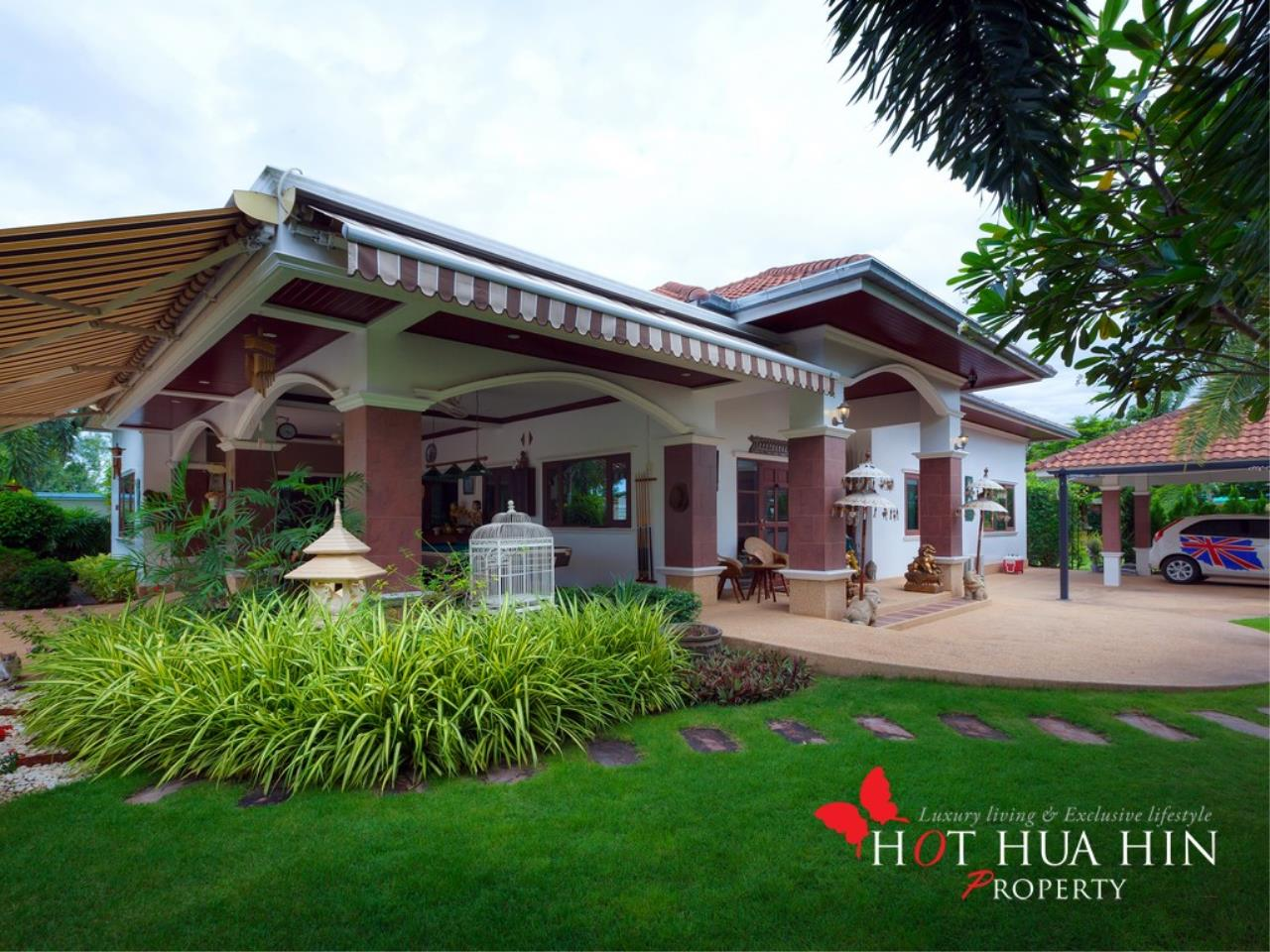Hot Hua Hin Co. Ltd. Agency's Well Built Home With Stunning Gardens And Two Full Kitchens 2