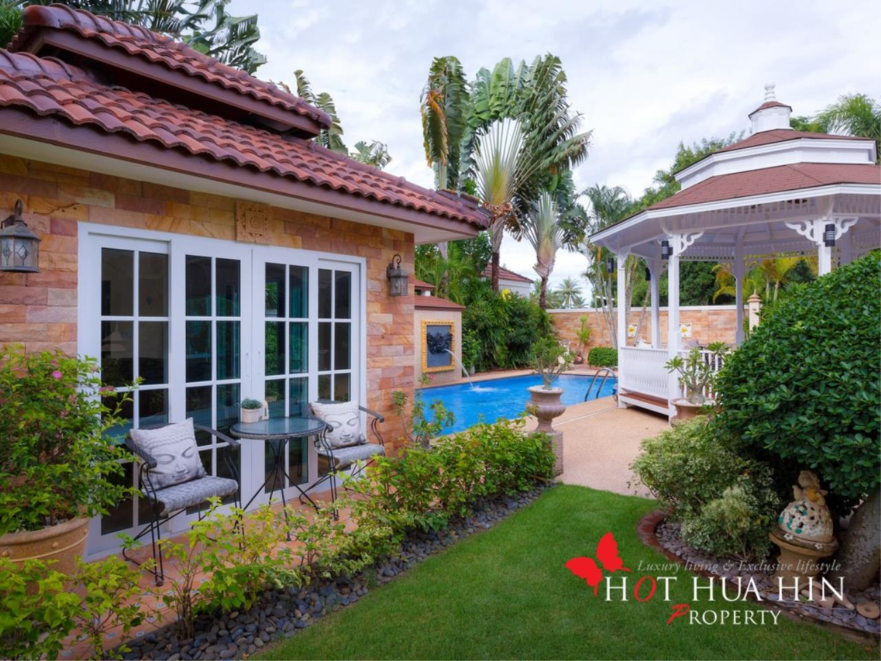 Hot Hua Hin Co. Ltd. Agency's Well Built Home With Stunning Gardens And Two Full Kitchens 25
