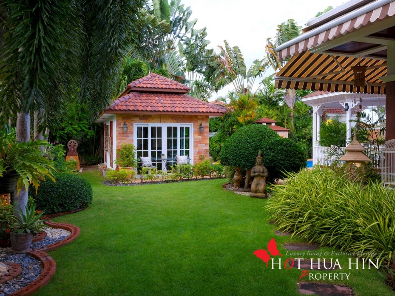 Hot Hua Hin Co. Ltd. Agency's Well Built Home With Stunning Gardens And Two Full Kitchens 24