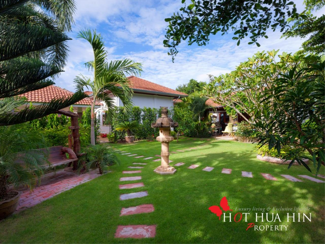 Hot Hua Hin Co. Ltd. Agency's Well Built Home With Stunning Gardens And Two Full Kitchens 33