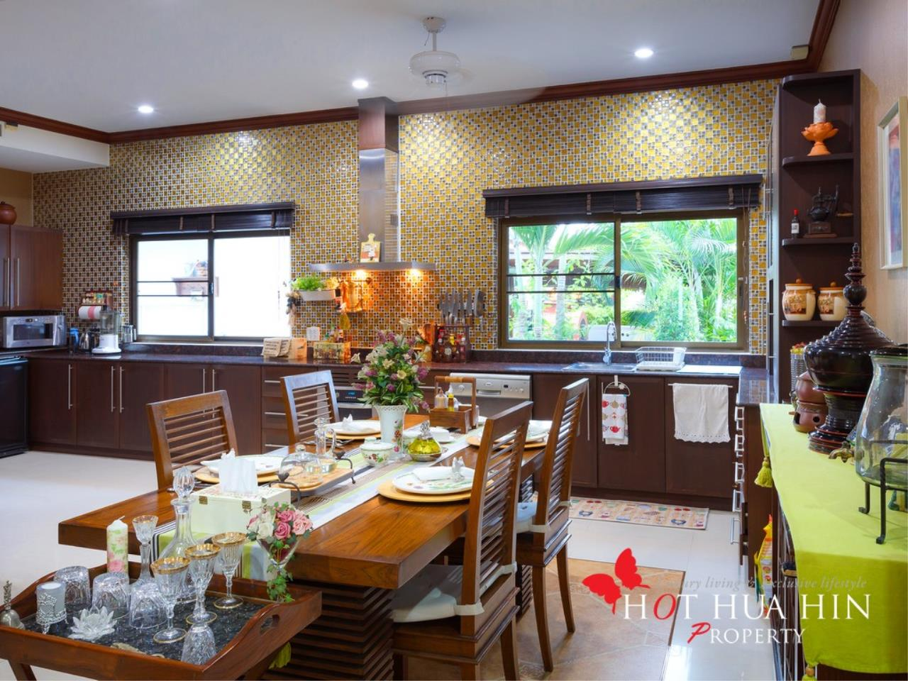 Hot Hua Hin Co. Ltd. Agency's Well Built Home With Stunning Gardens And Two Full Kitchens 7