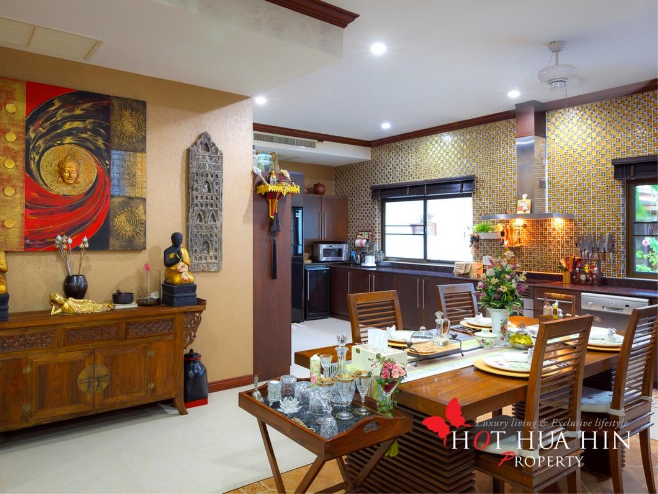 Hot Hua Hin Co. Ltd. Agency's Well Built Home With Stunning Gardens And Two Full Kitchens 8