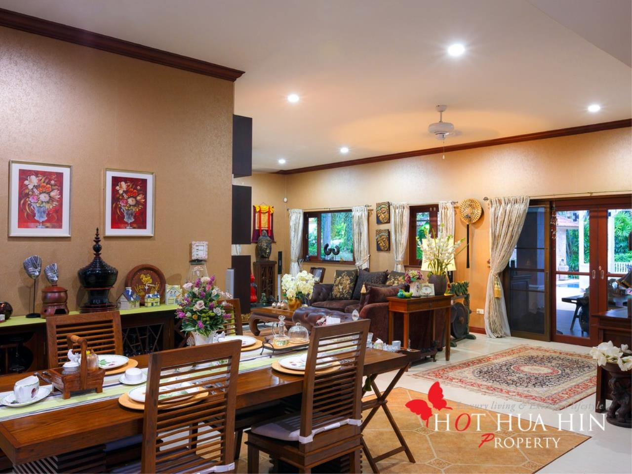 Hot Hua Hin Co. Ltd. Agency's Well Built Home With Stunning Gardens And Two Full Kitchens 9