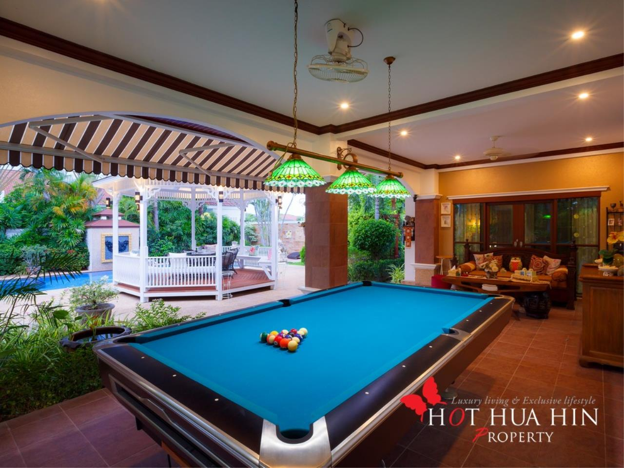 Hot Hua Hin Co. Ltd. Agency's Well Built Home With Stunning Gardens And Two Full Kitchens 5
