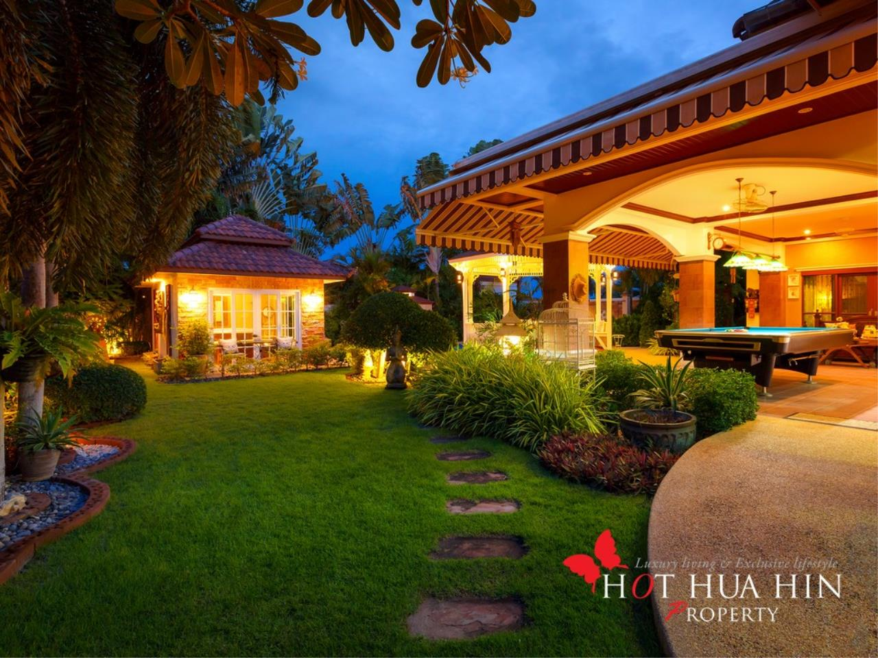 Hot Hua Hin Co. Ltd. Agency's Well Built Home With Stunning Gardens And Two Full Kitchens 40