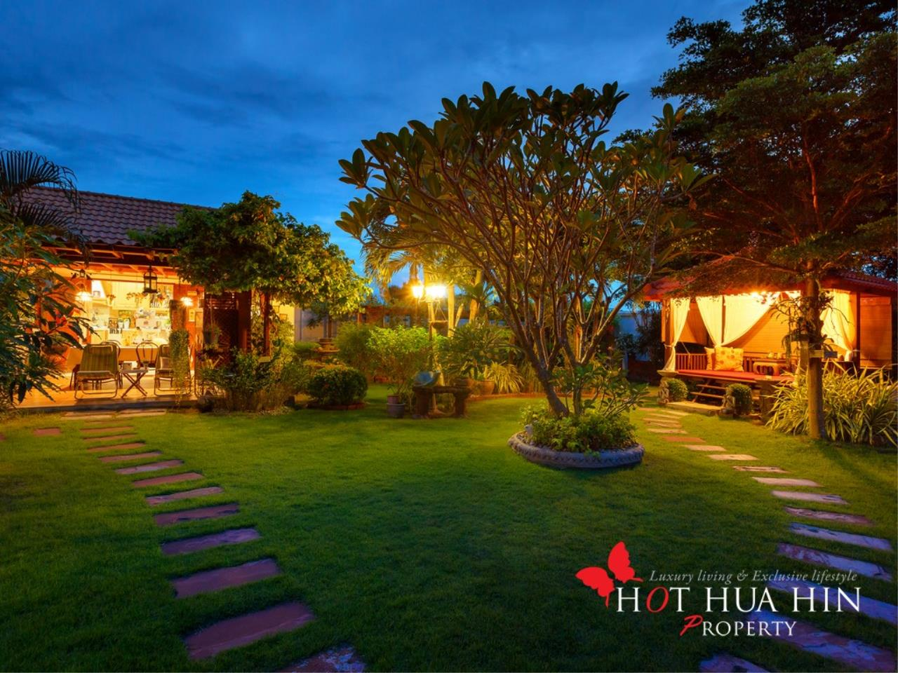 Hot Hua Hin Co. Ltd. Agency's Well Built Home With Stunning Gardens And Two Full Kitchens 41