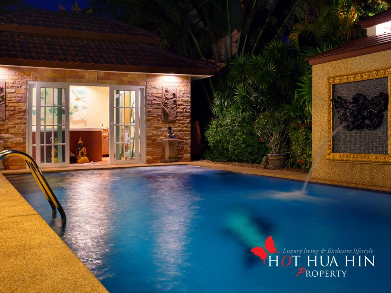 Hot Hua Hin Co. Ltd. Agency's Well Built Home With Stunning Gardens And Two Full Kitchens 43