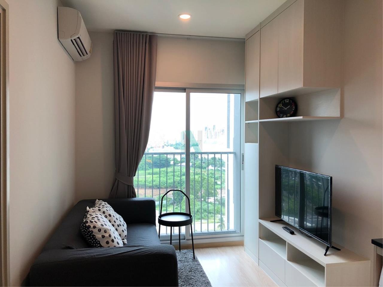 NOPPON REAL ESTATE CO.,LTD.  Agency's For Rent NOBLE REVOLVE Ratchada 1 bed 1 bath MRT Cultural Center 4