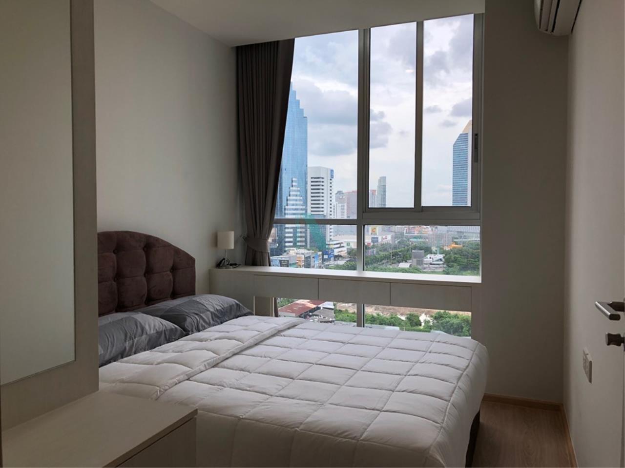 NOPPON REAL ESTATE CO.,LTD.  Agency's For Rent NOBLE REVOLVE Ratchada 1 bed 1 bath MRT Cultural Center 7