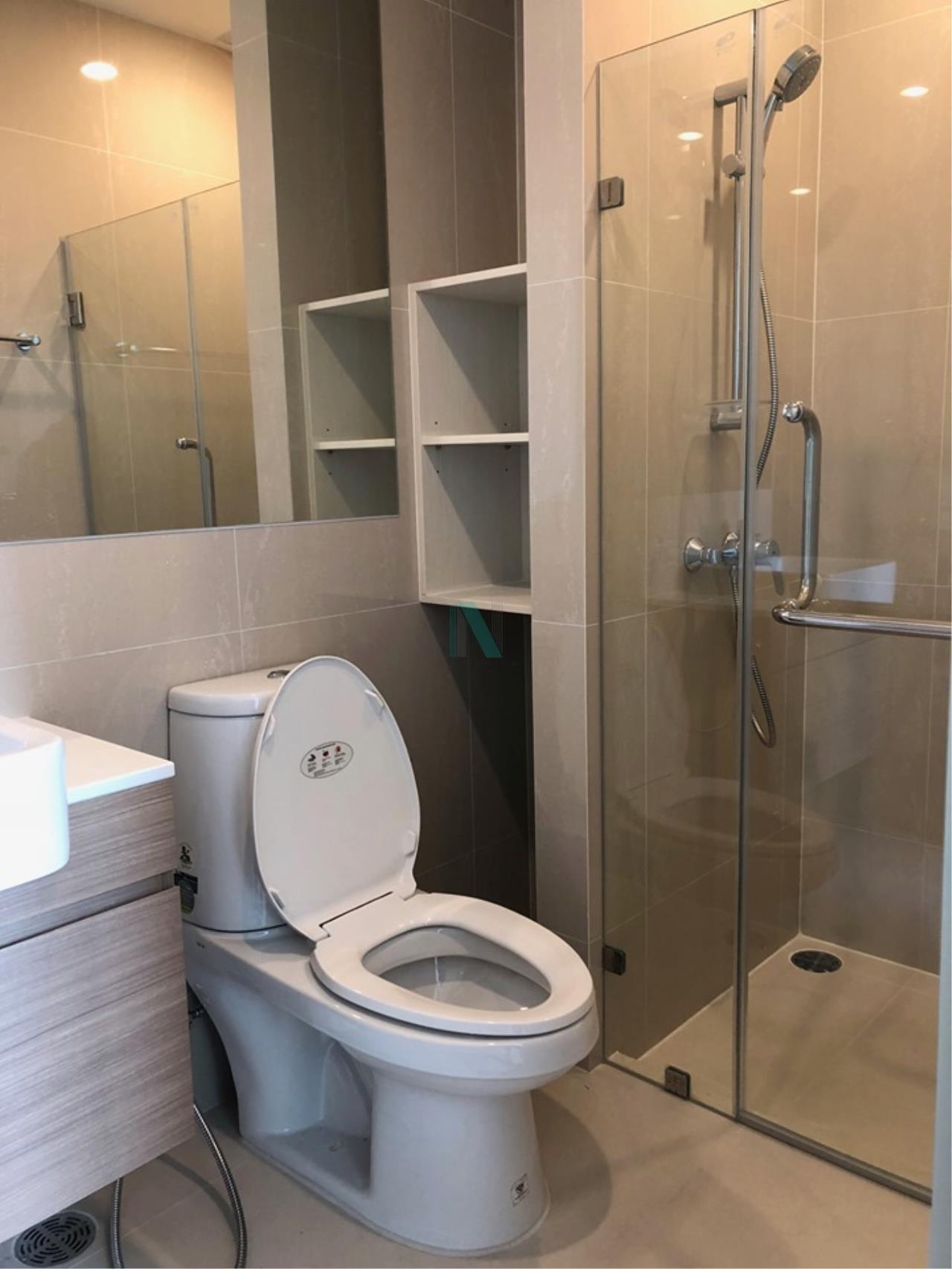 NOPPON REAL ESTATE CO.,LTD.  Agency's For Rent NOBLE REVOLVE Ratchada 1 bed 1 bath MRT Cultural Center 8